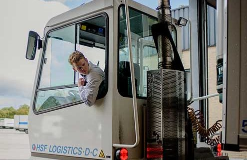 HSF Logistics zoekt leerling chauffeurs