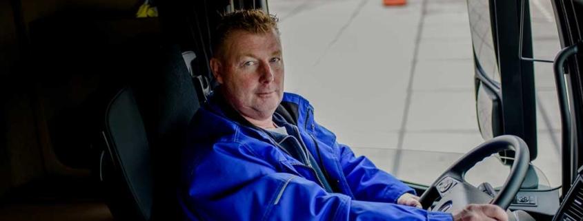 Marcel, chauffeur bij HSF logistics Nijmegen